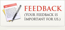 Feedback - Your Feedback is Important for Us
